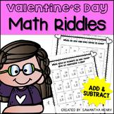 Valentine's Math Riddles