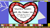 Valentine's Math activities for the Activeboard