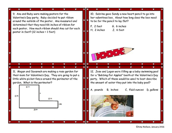 Valentine's Measurement Activity