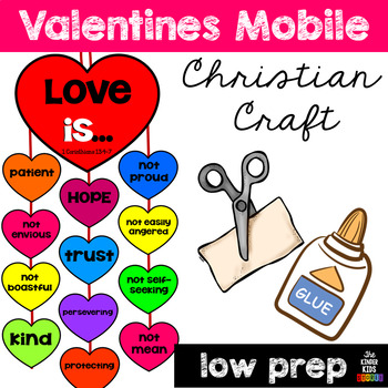 Valentines Day Mobile Craft