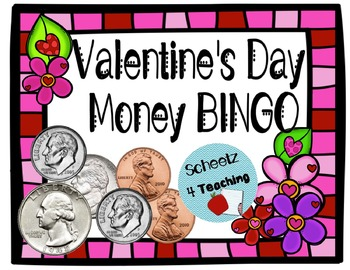 Valentine's Money Math Bingo