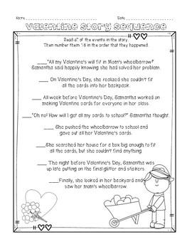 Valentine's NO PREP Activities and Printables