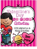 Valentine's NO PREP Activities and Printables