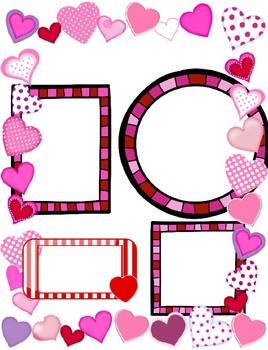 Valentine's Newsletter Template