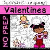 Valentine's: No Prep Speech and Language