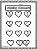 Valentine's Day Number Activity - Missing Numbers
