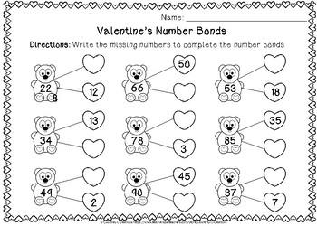 Valentine's Number Bonds