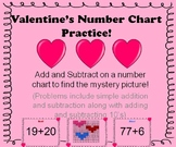 Valentine's Number Chart Practice!