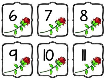 Valentine's Number Recognition Game