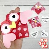 Valentine's Owl Corner Bookmark - STEAM Origami Projects (