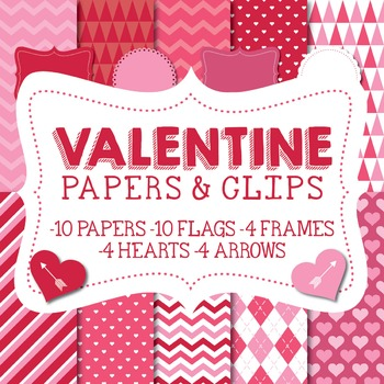 Valentine's Papers & Clipart