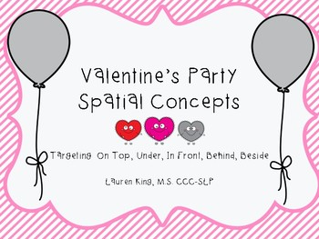 Valentine's Party Spatial Concepts