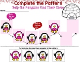 Valentine's Penguin Pattern