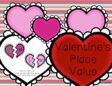 Valentine's Place Value
