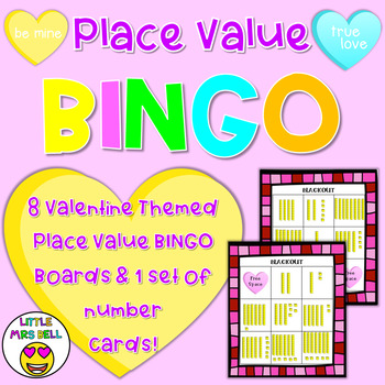 Valentine Place Value Game