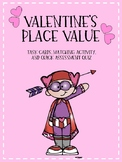 Valentine's Place Value Bundle