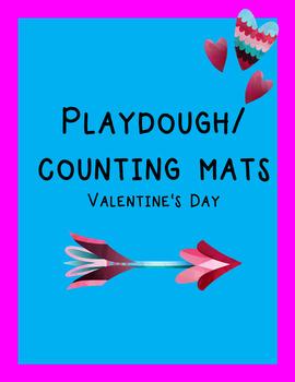 Valentine's Play Dough Mats