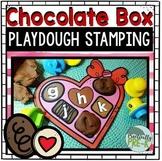Valentine's Playdough Mats (Valentine's Literacy Activity)
