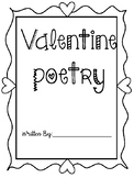 Valentine's Poetry Packet