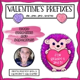 Valentine's Prefix Word Searches and Scrambles