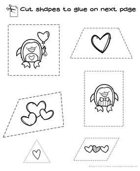 Valentine's Preschool Skills Pages