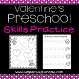Valentine's Preschool Skills Pages