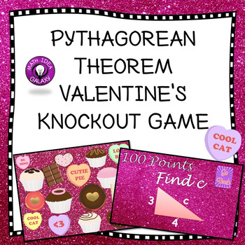 Valentine's Pythagorean Theorem Game