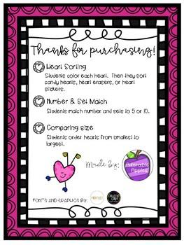 Valentine's Quick Math Activities