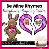 Valentine's Rhyming Match Center