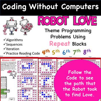 Robot Love Repeat Block Programming Problems