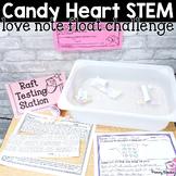 Valentine's STEM: Candy Heart Love Note Float Challenge