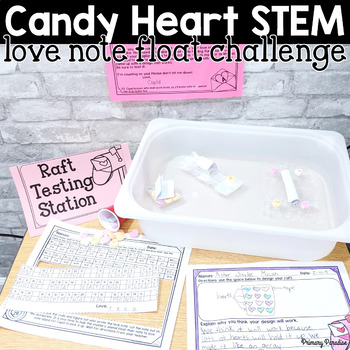 Valentine's STEM: Candy Heart Love Note Float Challenge