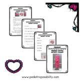 Valentine's Sensory Bottle Activity Packet