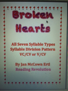 Valentine's Seven Syllable Types Bundle Pack