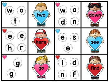 Sight Word Unscramble: February