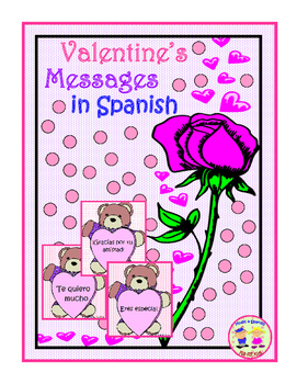 Valentine's Spanish Card Messages