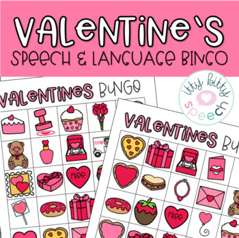 Valentine's Speech & Language Bingo