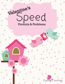 Valentine's Speed Problem Practice