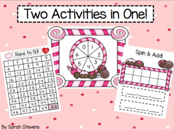 Valentine's Spin & Add + Race to 50