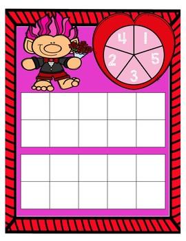 Valentine's Spin to 20 Freebie