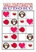 Valentine's Sudoku for Preschool