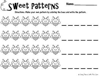 Valentine's Sweet Patterns FREEBIE