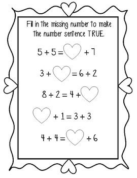 Valentine's TRUE or FALSE: *22* Print and Go Pages for First Grade!
