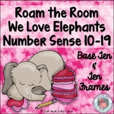 Number Sense Activity Valentine's Teen Numbers