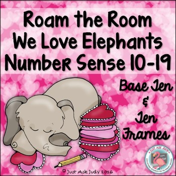 Number Sense Activity Valentine's Teen Numbers