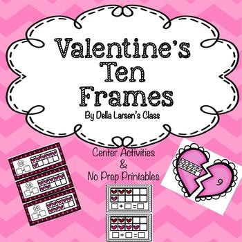 Valentine's Ten Frames