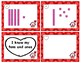 Valentine's Tens and Ones Task Cards