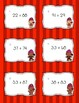 Valentine's Themed Differentiated Math Adding and Subtracting Task Cards