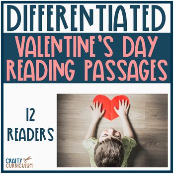 Valentine's Themed Differentiated Passages