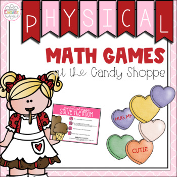 Valentine's Themed Math Centers